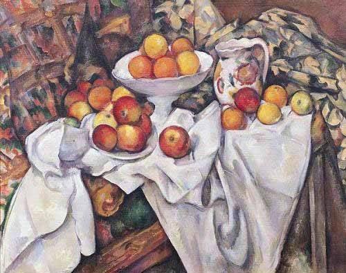 tableaux-pour-salle-a-manger - Tableau - Pommes et oranges, (1895-1900) - - Cezanne, Paul