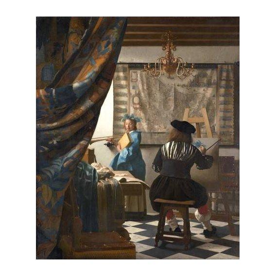 pinturas do retrato - Quadro -The Art of Painting-