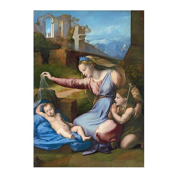 imagens religiosas - Quadro -La Virgen Del Velo-