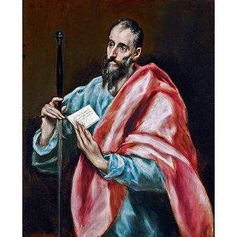Tableaux religieuses - Tableau -San Pablo- - Greco, El (D. Theotocopoulos)