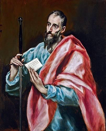 tableaux-religieuses - Tableau -San Pablo- - Greco, El (D. Theotocopoulos)