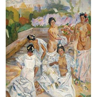 Tableaux de Nus - Tableau -El Baño (Sevilla)- - Iturrino, Francisco