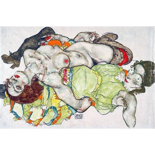 Tableau -Female Lovers, 1915-