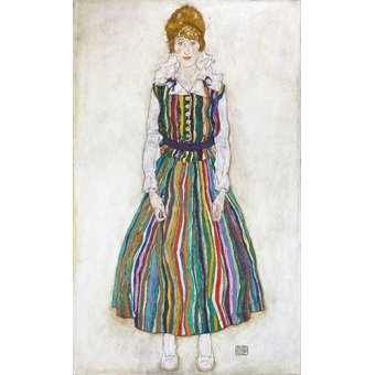 Tableau -Portrait of Edith (the artist's wife), 1915-