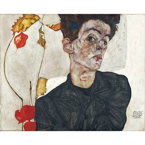 Tableau -Self-Portrait with Physalis-