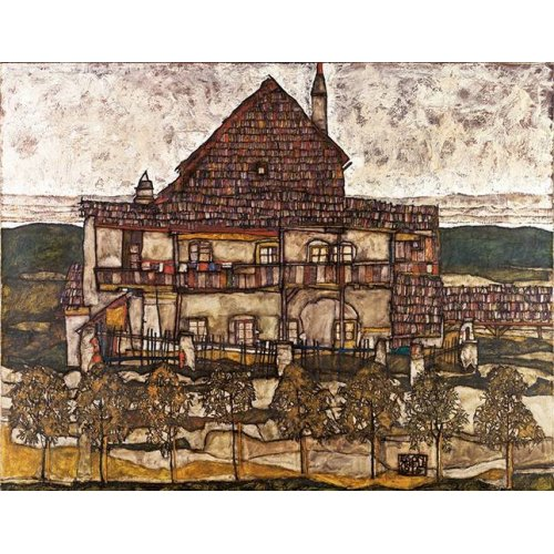 Tableau -House with Shingle Roof (Old House II), 1915-