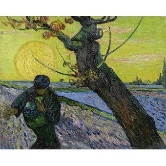 Tableau -Le semeur au soleil couchant, 1888-