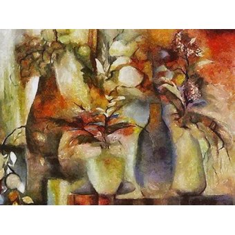 Tableaux de Fleurs - Tableau -Moderno CM6069- - Medeiros, Celito