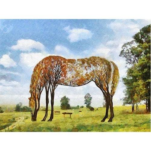 Tableau -Moderno CM9870- (caballos)