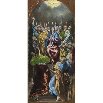 Tableaux religieuses - Tableau -Pentecostés, 1597- - Greco, El (D. Theotocopoulos)