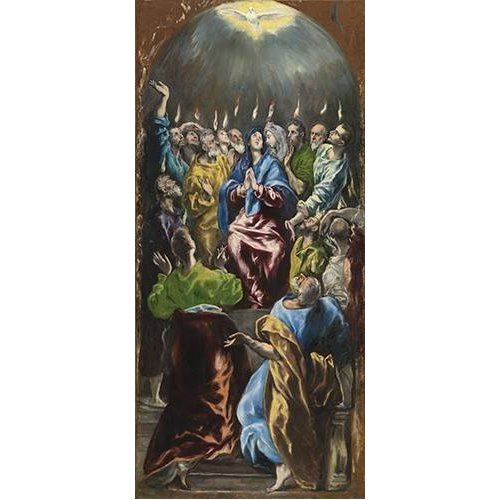Tableau -Pentecostés, 1597-