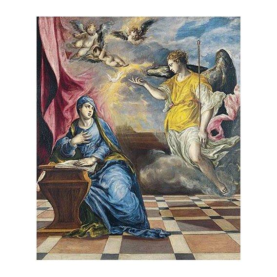 imagens religiosas - Quadro -La Anunciación, 1576-