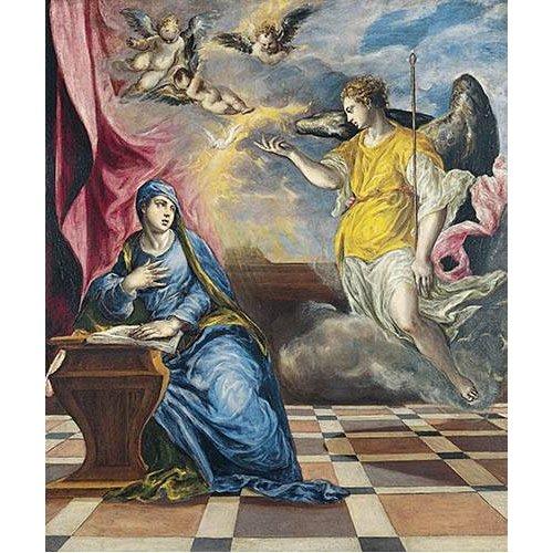 Tableau -L'annonciation, 1576-
