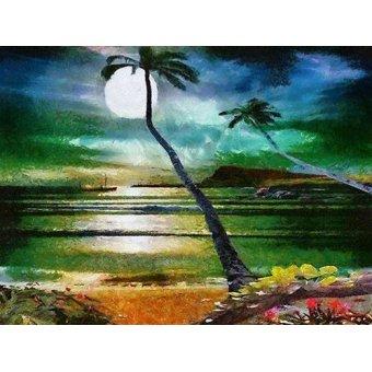 Tableaux de paysages marins - Tableau -Moderno CM6203- - Medeiros, Celito
