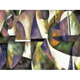 Tableaux abstraits - Tableau -Moderno CM6676- - Medeiros, Celito