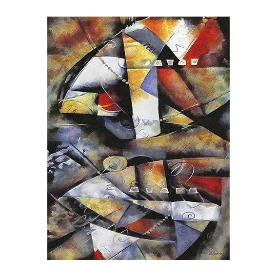 pinturas abstratas - Quadro -Moderno CM6706-