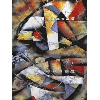Tableaux abstraits - Tableau -Moderno CM6706- - Medeiros, Celito