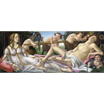 Tableaux de Personnages - Tableau -Venus y Marte- - Botticelli, Alessandro