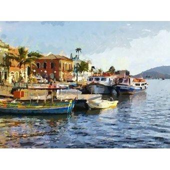 Tableaux de paysages marins - Tableau -Moderno CM7169- - Medeiros, Celito