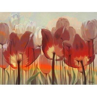 Tableaux de Fleurs - Tableau -Moderno CM8075- - Medeiros, Celito