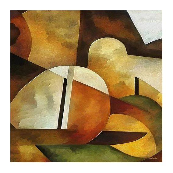pinturas abstratas - Quadro -Moderno CM8889-