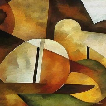Tableaux abstraits - Tableau -Moderno CM8889- - Medeiros, Celito