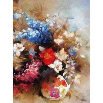 Tableaux de Fleurs - Tableau -Moderno CM9385- - Medeiros, Celito