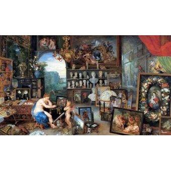 Tableaux de Personnages - Tableau -El sentido de la vista- - Bruegel