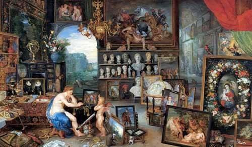 tableaux-de-personnages - Tableau -El sentido de la vista- - Bruegel