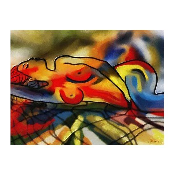 pinturas modernas - Quadro -Moderno CM9640-
