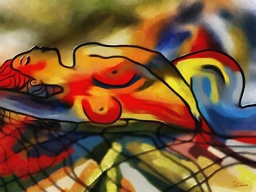 tableaux-modernes - Tableau -Moderno CM9640- - Medeiros, Celito