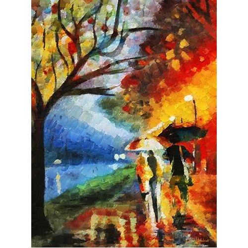 pinturas de paisagens - Quadro -Moderno CM9800-