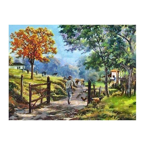 pinturas modernas - Quadro -Moderno CM9850-