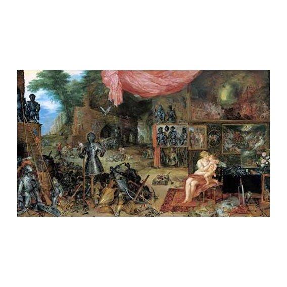 pinturas do retrato - Quadro -El sentido del tacto-