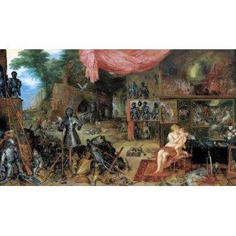 Tableaux de Personnages - Tableau -El sentido del tacto- - Bruegel