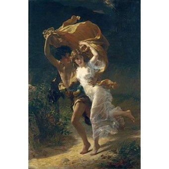 Tableaux de Personnages - Tableau -The Storm, 1880- - Cot, Pierre-Auguste