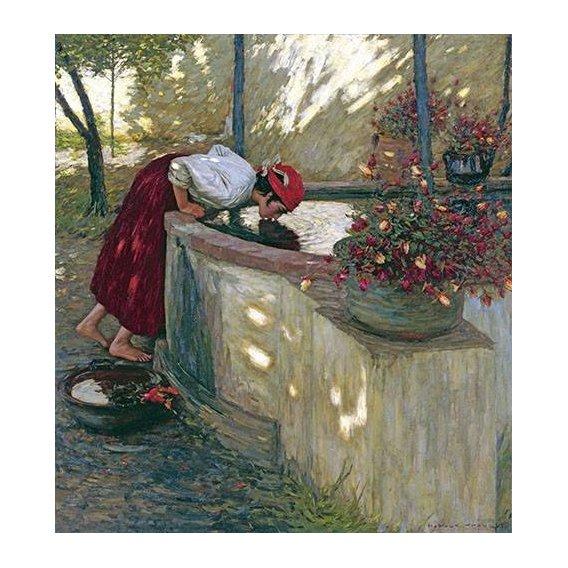 pinturas do retrato - Quadro -Ligurian Roses-