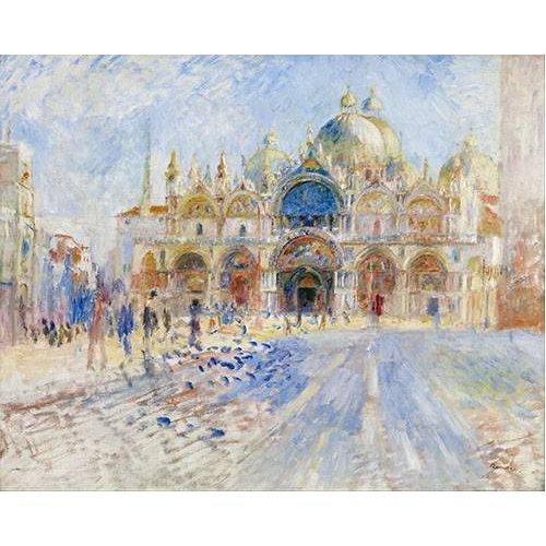Tableau -Place San Marco, Venise-