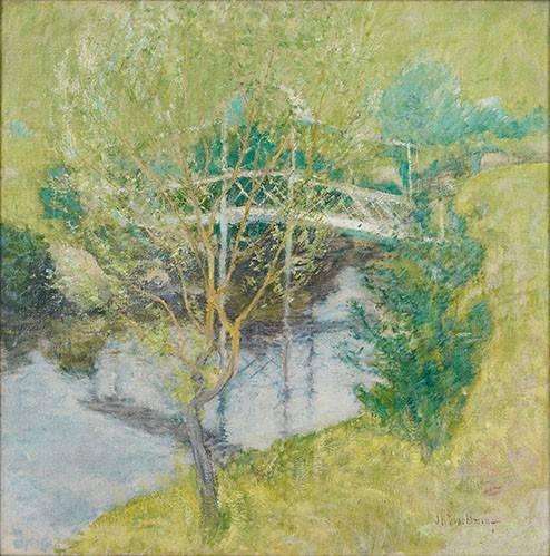 tableaux-de-paysages - Tableau -El Puente Blanco- - Twachtman, John
