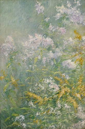tableaux-de-fleurs - Tableau -Flores del prado- - Twachtman, John