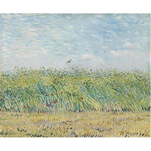 Tableau -Champ de blé avec perdrix,1887-