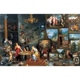 Tableaux de Personnages - Tableau -La vista y el olfato- - Bruegel