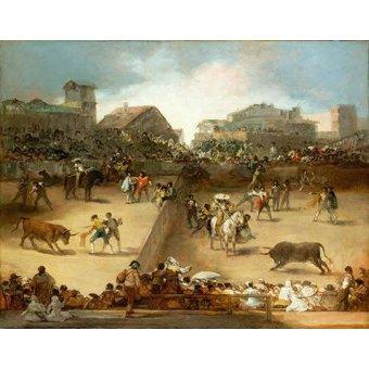 Tableaux de faune - Tableau -Corrida de toros en una plaza partida- - Goya y Lucientes, Francisco de