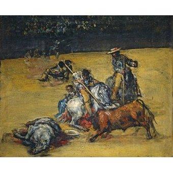 Tableaux de faune - Tableau -Corrida de toros- - Goya y Lucientes, Francisco de