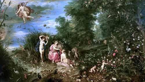 tableaux-de-personnages - Tableau -Los cuatro elementos- - Bruegel