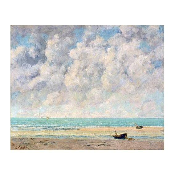 pinturas de paisagens marinhas - Quadro -El mar en calma-
