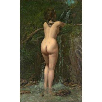 Tableau -La Fuente- (Courbet)