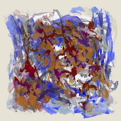 tableaux-abstraits - Tableau -Abstrait _ Carte de l'europe- - Ricardo, Emilio