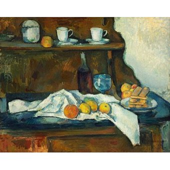 Tableaux nature morte - Tableau - La commode - - Cezanne, Paul