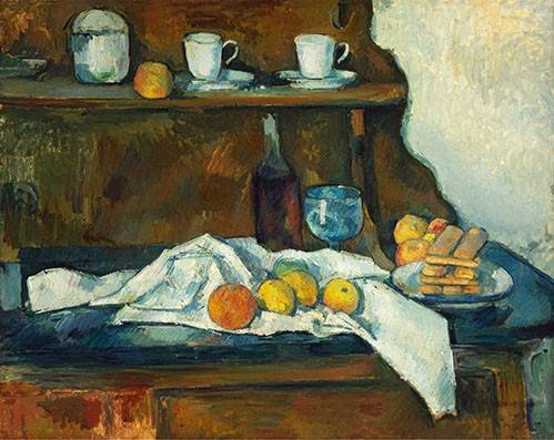 tableaux-nature-morte - Tableau - La commode - - Cezanne, Paul